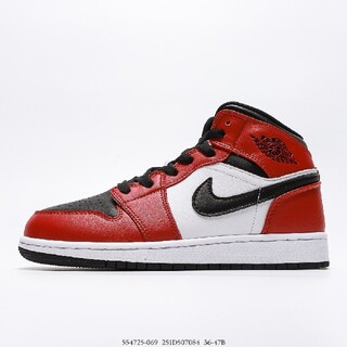 ナイキ(NIKE)のnike Air Jordan 1 MiD Gym Red 554725-069(その他)