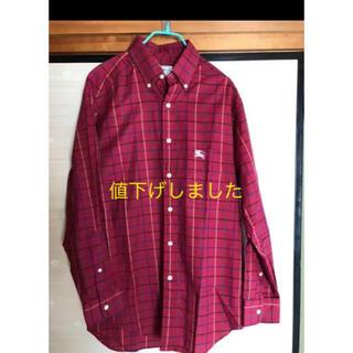 バーバリー(BURBERRY)のBurberrys バーバリー チェックシャツ M(シャツ)