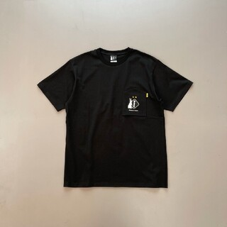 エフシーアールビー(F.C.R.B.)のM 新品 FCRB 20AW #FR2 POCKET TEE BLACK(Tシャツ/カットソー(半袖/袖なし))