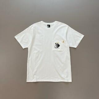 エフシーアールビー(F.C.R.B.)のM 新品 FCRB 20AW #FR2 POCKET TEE WHITE(Tシャツ/カットソー(半袖/袖なし))