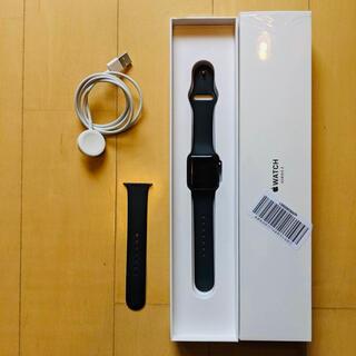 アップルウォッチ(Apple Watch)のAPPLE WATCH3 38mmブラック(その他)