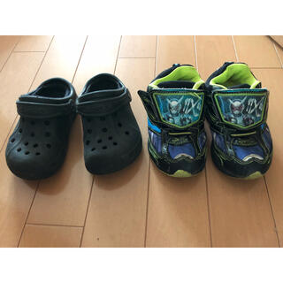 クロックス(crocs)のサンダル スニーカー(サンダル)