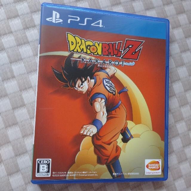 BANDAI NAMCO Entertainment(バンダイナムコエンターテインメント)の専用出品 ドラゴンボールZ KAKAROT PS4 エンタメ/ホビーのゲームソフト/ゲーム機本体(家庭用ゲームソフト)の商品写真