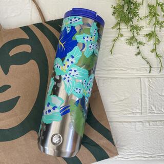 スターバックスコーヒー(Starbucks Coffee)の新作 2021 スタバ  タンブラー 水筒 ステンレス フラワー 海外限定 レア(タンブラー)