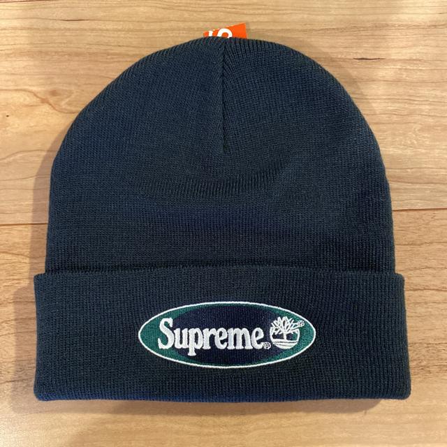 Supreme(シュプリーム)のSupreme × Timberland Beanie  ネイビー メンズの帽子(ニット帽/ビーニー)の商品写真