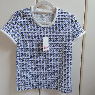 クレージュ(Courreges)の【新品】クレージュ Tシャツ ロゴ カットソー M(Tシャツ(半袖/袖なし))