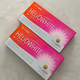 ロート製薬 - ヘリオホワイト 24粒 2箱