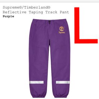 Supreme - Supreme × Timberland Track Pant  Lサイズ 紫
