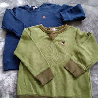 ダブルビー(DOUBLE.B)の中古 ダブルbとミキハウスのトレーナー(Tシャツ/カットソー)