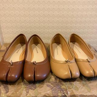 マルタンマルジェラ(Maison Martin Margiela)の足袋シューズ⭐︎ Maison Margiela風 ⭐︎バレエシューズ⭐︎(バレエシューズ)