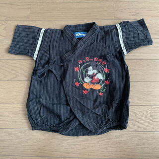 ディズニー(Disney)の男の子 80サイズ ロンパース 甚平 ミッキー(甚平/浴衣)