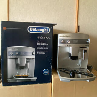 デロンギ(DeLonghi)のデロンギ マグニフィカ 全自動コーヒーマシン 2020年製(コーヒーメーカー)