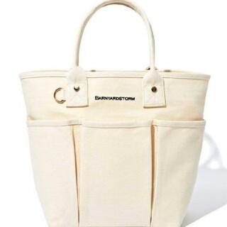 BARNYARDSTORM - バンヤードストーム キャンバス地 トート バッグ ホワイト