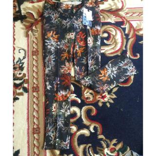 ダブルスタンダードクロージング(DOUBLE STANDARD CLOTHING)の新品タグ付き 花柄パンツ(カジュアルパンツ)