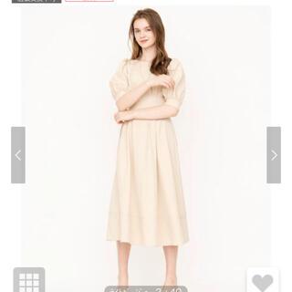 アンドクチュール(And Couture)の新品未使用 アンドクチュール 人気ワンピース (ひざ丈スカート)