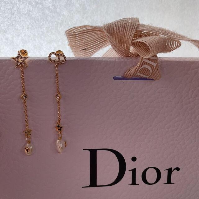 Christian Dior(クリスチャンディオール)のDiorピアス Dior SHINY-D ピアス 値下げしました レディースのアクセサリー(ピアス)の商品写真
