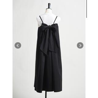 新品未使用タグ付♡yoriバックリボンキャミドレス