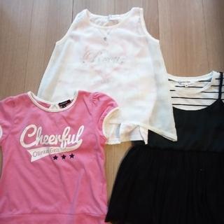 グローバルワーク(GLOBAL WORK)の【グローバルワーク他】子どもTシャツ  3枚セット(女子)(Tシャツ/カットソー)