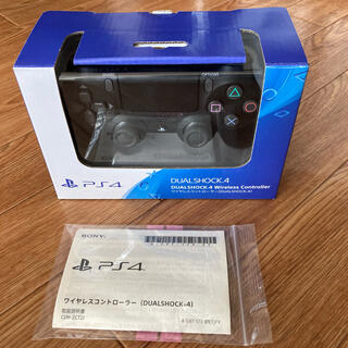 PlayStation4 - PS4ワイヤレスコントローラー 保証証有