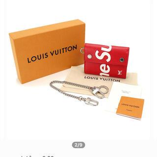 シュプリーム(Supreme)のsupreme LOUIS VUITTON コラボ財布(折り財布)