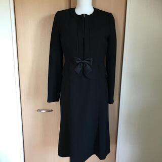 シマムラ(しまむら)のセオリアブラックフォーマルレディーススーツ11号(礼服/喪服)
