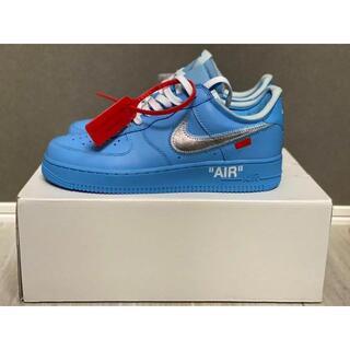 Nike OFF WHITE Air Force 1 MCA Blue 26cm
