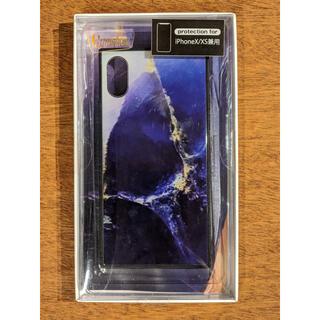 iPhoneケース ガラスケース iPhoneX/XS