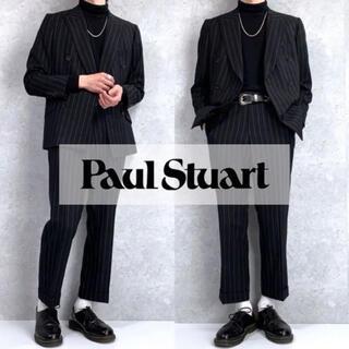 Paul Stuart - 美品 ポールスチュアート ストライプ柄 ダブルセットアップ メンズ  春夏