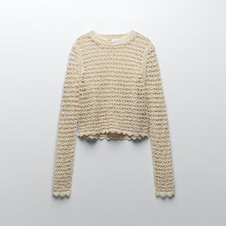 ZARA - ZARA オープンニットセーター