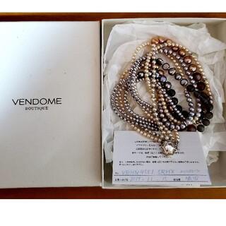 ヴァンドームアオヤマ(Vendome Aoyama)の百貨店購入 ヴァンドーム 青山 ムーンストーン ネックレス(ネックレス)