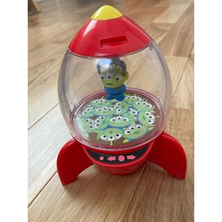 Disney - リトルグリーンメン ロケット型 キャンディーケース