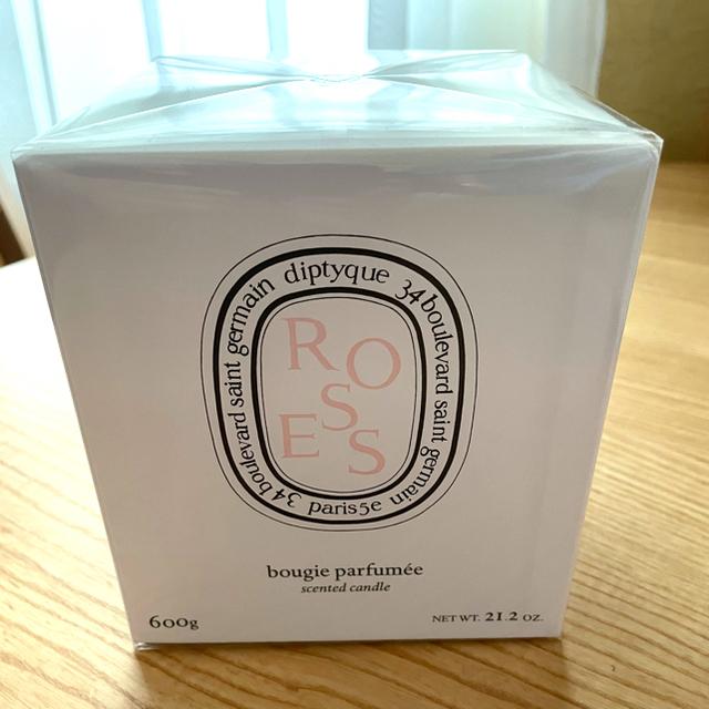 diptyque(ディプティック)のディプティック フレグランス キャンドル ローズ 600g コスメ/美容のリラクゼーション(キャンドル)の商品写真