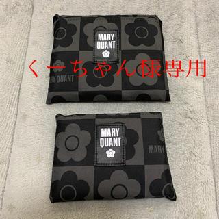 MARY QUANT - マリークワント 洗えるエコバッグ2つセット