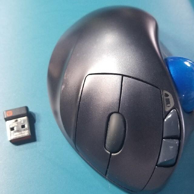 Logicool ロジクール ワイヤレストラックボールマウス M570 中古 スマホ/家電/カメラのPC/タブレット(PC周辺機器)の商品写真