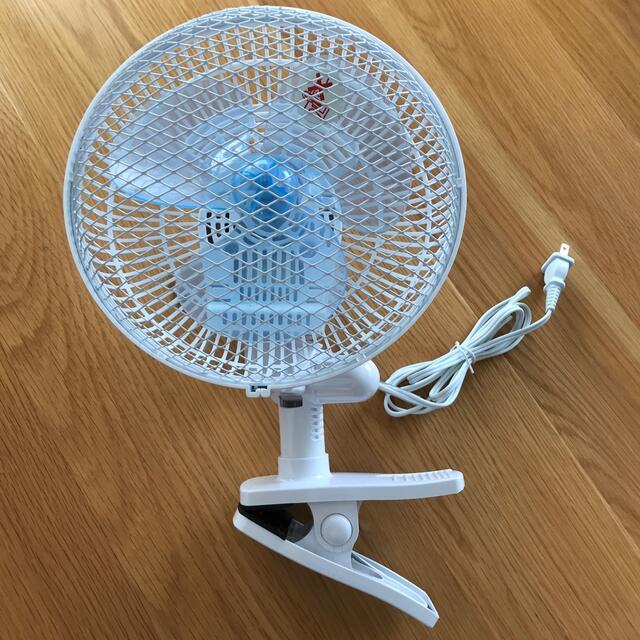 アイリスオーヤマ(アイリスオーヤマ)のさとう様専用アイリスオーヤマ クリップ扇風機 スマホ/家電/カメラの冷暖房/空調(扇風機)の商品写真