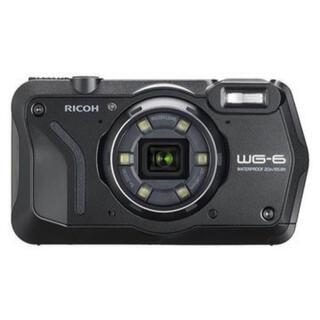 リコー(RICOH)の【新品未使用】リコー コンパクトデジタルカメラ ブラック WG-6(コンパクトデジタルカメラ)