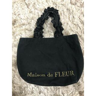 Maison de FLEUR - メゾンドフルール 黒ミニトート