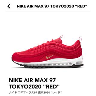 ナイキ(NIKE)のNIKE AIR MAX 97 東京 2020 レッド(スニーカー)