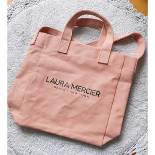 ローラメルシエ(laura mercier)のLAURA MERCIER トートバッグ サーモンピンク(トートバッグ)