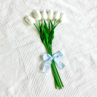 韓国 韓国インテリア 韓国雑貨 チューリップ 造花 ピクニック 6本セット