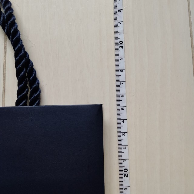 HARRY WINSTON(ハリーウィンストン)のハリーウィストン 紙袋 リボン レディースのバッグ(ショップ袋)の商品写真