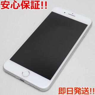 アイフォーン(iPhone)の美品 SIMフリー iPhone8 PLUS 256GB シルバー(スマートフォン本体)