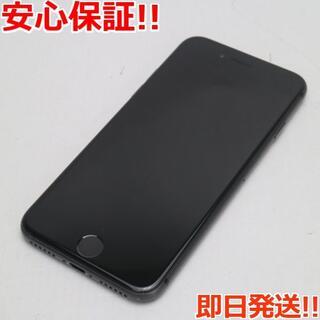 アイフォーン(iPhone)の超美品 SIMフリー iPhone8 256GB スペースグレイ (スマートフォン本体)