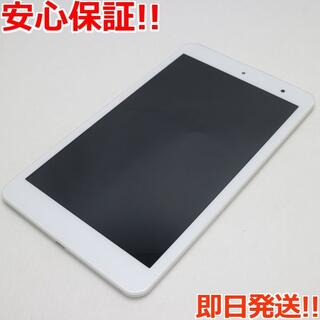 キョウセラ(京セラ)の美品 au Qua tab 01 KYT31 ホワイト (タブレット)