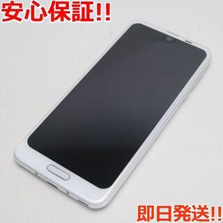 アクオス(AQUOS)の美品 SH-03K ホワイト 本体 白ロム (スマートフォン本体)