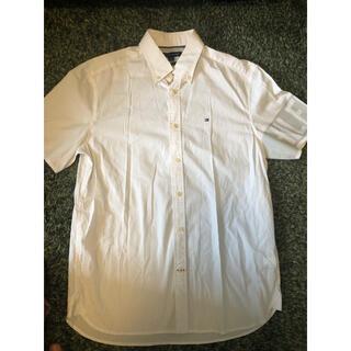 トミーヒルフィガー(TOMMY HILFIGER)のTOMMY HILFIGER メンズ白シャツ(シャツ)