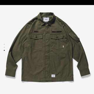 W)taps - wtaps 21ss FLYERS / LS / COTTON. WEATHER