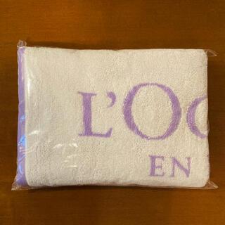 ロクシタン(L'OCCITANE)のロクシタン バスタオル〈ラベンダー〉(タオル/バス用品)