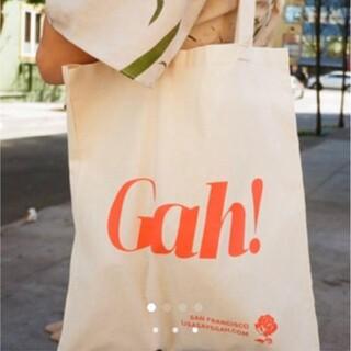 エディットフォールル(EDIT.FOR LULU)の新品 Lisa says gah! トートバッグ エコバッグ アイボリー(エコバッグ)