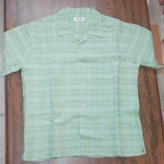 ユーピーレノマ(U.P renoma)の麻100% U.P renoma 半袖シャツ(シャツ)